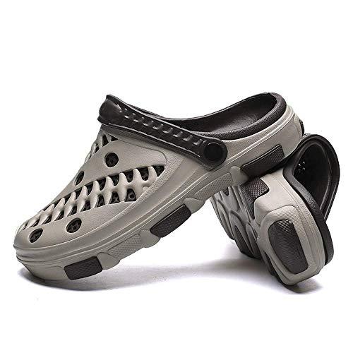ZGYQGOO Sandalias de Hombre Zapatos de Hombre Zapatos de tacón Hombre, Cómodo Hombre Sandalias de Piscina Zapatos de Verano para Playa