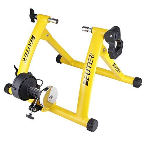 Ganmaov Fahrrad Rollentrainer Stahl Fahrrad Übung Ständer mit Geräusch Reduktions Rad MT-04 55x20x60.5cm