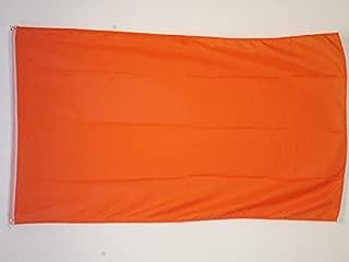 AZ FLAG Plain Orange Flag 2' x 3' - Orange Solid Color Flags 60 x 90 cm - Banner 2x3 ft