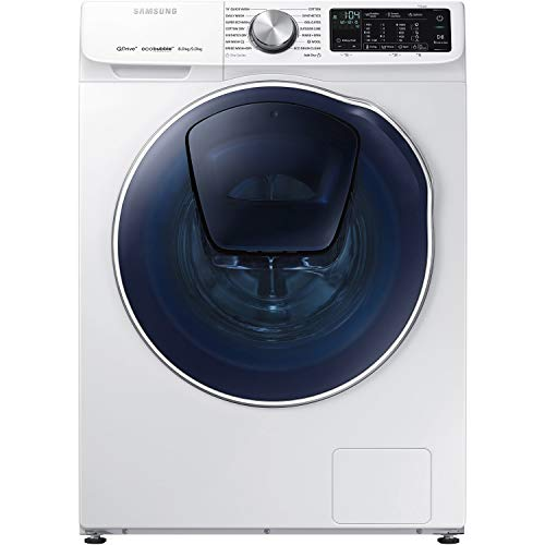 Samsung WD80N645OOW QuickDrive 8kg Wash 5kg Dry 1400rpm Freestanding Washer Dryer With AddWash - White
