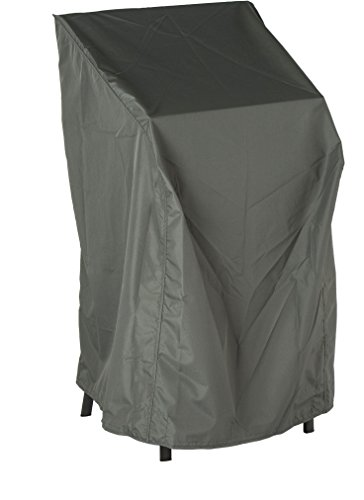 Stern Schutzhülle für Gartenmöbel, 4-6 Stapelsessel, uni grau, 66 x 68 x 117 cm, 1,2 ml, 454801
