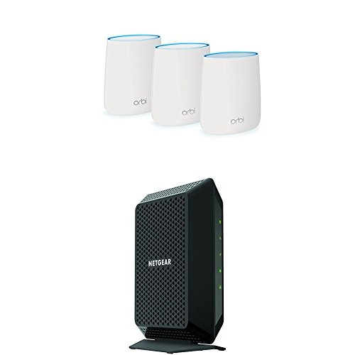 Netgear Orbi mesh networking and CM700 cable modem