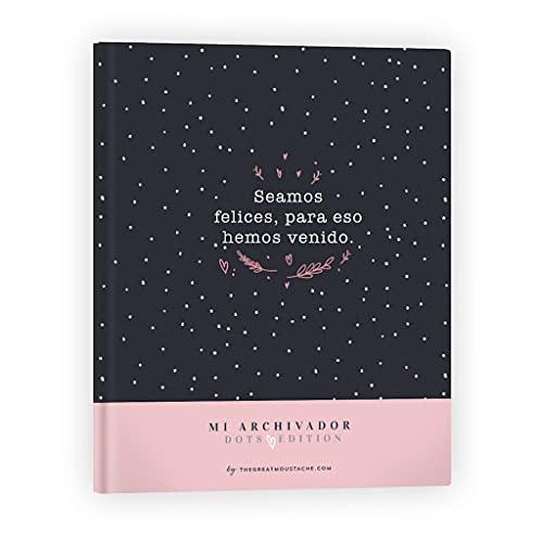 THE GREAT MOUSTACHE Carpeta archivador - dots edition