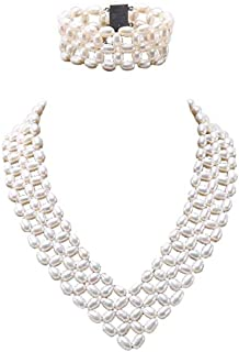 Best handmade pearl necklace sets Reviews