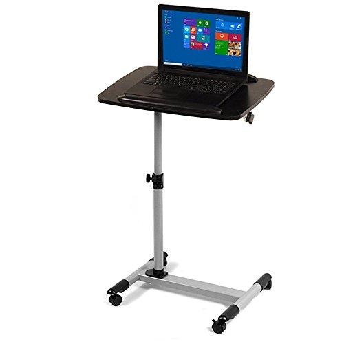Maclean MC-671 Laptopständer Projektorständer Laptoptisch Notebookständer auf Rollen höhenverstellbar Halterung