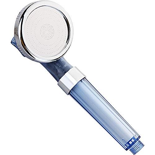Handgehaltene Duschkopf Filter Chlorionen steigern Dusche Haushalts Geeignet für trockene Haut und Haar (Color : Ocean Blue+with Filter)