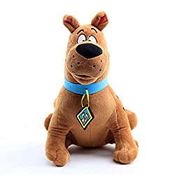 Image: Scooby Doo Plush Toy Brown Great Dane Movie Scooby Doo Doll Doll 14 inches (36 cm) | Brand: Moovi