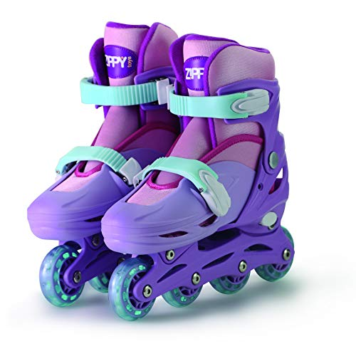 Patins In Line Ajust Rosa-30-33 Mimo Style Rosa