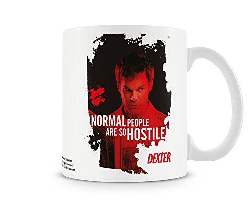 Dexter Taza de café con Licencia Oficial Normal People