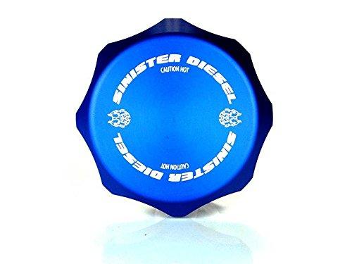 Oil Fill Cap Sinister Diesel Blue for Ford Powerstroke 1999-2003 7.3L