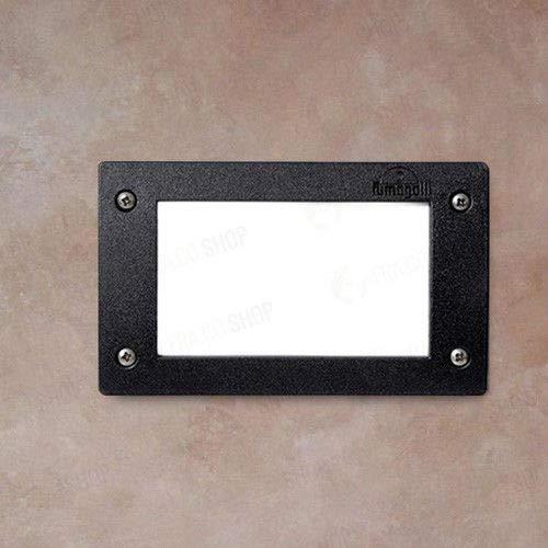 Éclairage extérieur FUMAGALLI avec marches lumineuses GX53 - 3 W 4000 K - Ligne LETI 200 - Article : 4C1000000AYG1L