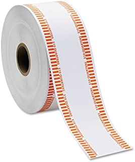 Automatic Coin Flat Wrapper Rolls, Quarters, $10, 1900 Wrappers/Roll, Sold as 1 Roll