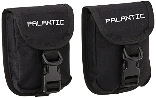 Palantic Scuba Diving Trim Counter Weight Pocket Pouch with QR Buckles (1 Pair)