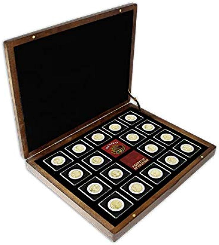 cómodo IMPACTO COLECCIONABLES Monedas Monedas Monedas del Mundo - Colección de 18 Monedas de La revolución Mexicana de 1910-1929  salida