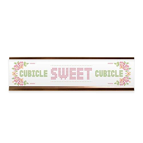 Qwtykeertyi Birthday Office Desk Name Plate Or Wall//Door Sign 5.5 X 7.5 in