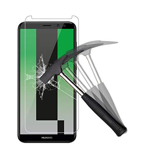 EJBOTH [2 Stück] Huawei Mate 10 Lite Panzerglas, Premium Gehärtetem Glas Handy Displayschutzfolie Schutzfolie Panzerfolie Transparent - High Definition 9H