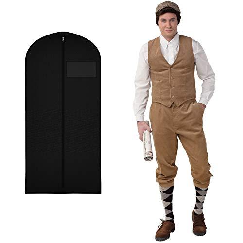 WOOOOZY Herren-Hose Knickerbocker beige, Gr. 46-48 - inklusive praktischem Kleidersack