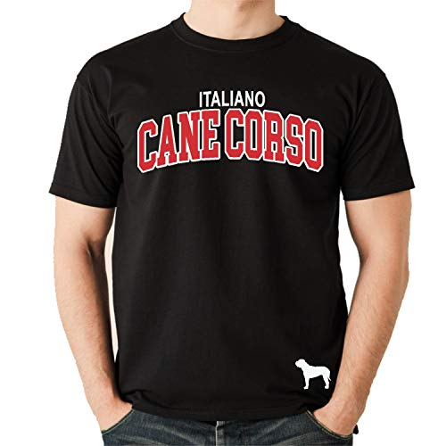 Cane Corso Unisex T-Shirt Extreme Hundemotiv Italiano Cane Corz Italien Größe XL