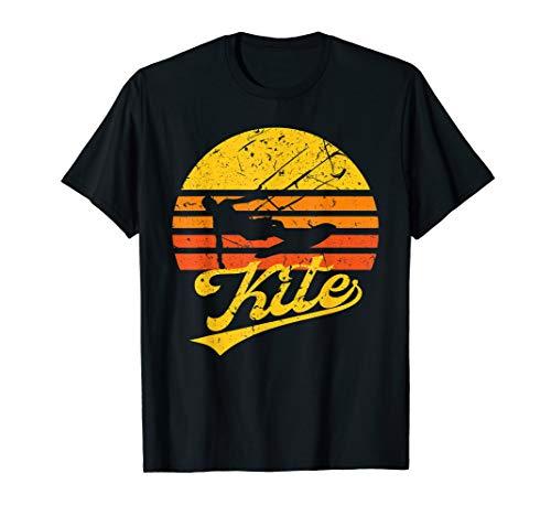 Vintage KITE Kiten Kiteboarding Retro Kitesurfen Surf T-Shirt