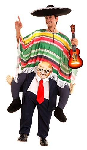Disfraz de Presidente Trump a hombros para adultos