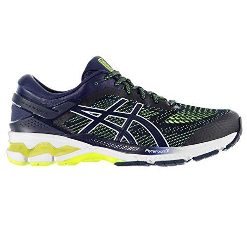 Asics Gel-kayano 26, Men's Running Shoes, Peacoat / Safety Yellow, 6 UK (40 EU)