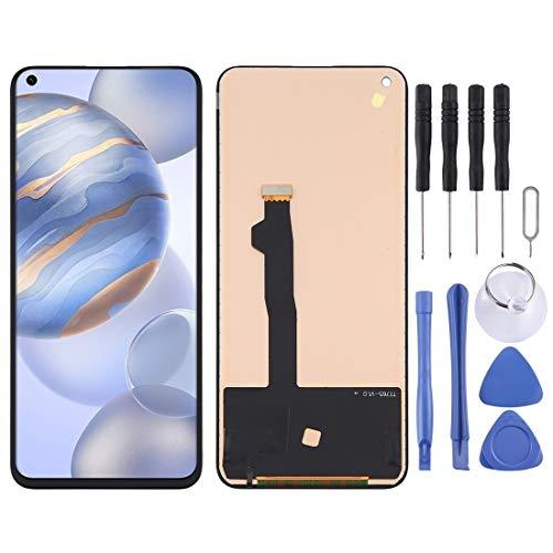 携帯電話LCDスクリーン交換 TFT材料LCDスクリーンとデジタイザー全体(指紋識別を支えていない)Huawei Honor 30 / Nova 7 5G