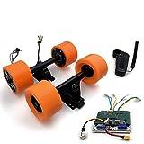 Electronic Longboard Hub Motor Kit Skateboard Brushless Motor Wheel With Truck Electric Board Dual Motor Drive Remote Controller (Dual drive remote)
