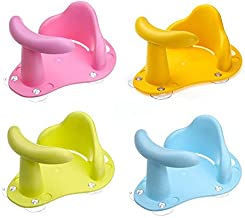 Tub Seat Baby Bathtub Chair Safety Security Anti Slip Baby Care Children Bathing Seat Washing Toys Four Color 37.5cm