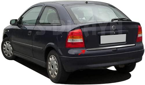 Cubierta de tapa para maletero trasero de acero inoxidable para Astra G Saloon 2001-2009