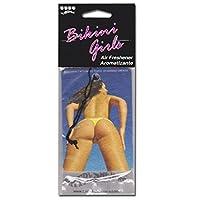 【Bikini Girls Air Freshener】ビキニ姿のセクシーガールエアフレッシュナー (Cheeky Bikini)