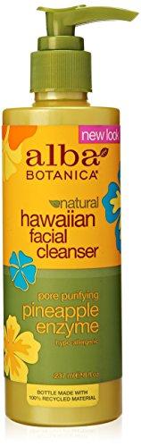 Alba Botanica Hawaiian Enzyme Face Cleanser, Pineapple, 8 oz