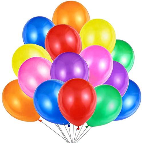 50 Ballons Multicolores Ballons ...