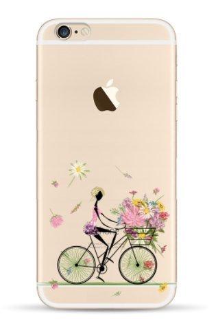 THEcoque Schutzhülle für iPhone 4 / 4S, Motiv Tansparente mit Drossel-Motiv, inkl. Bildschirmschutzfolie