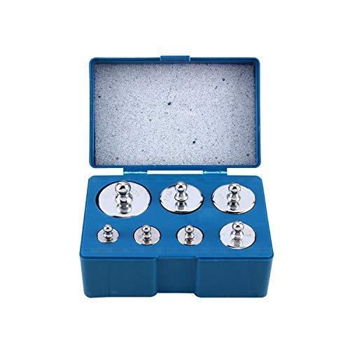 Trimming Shop - Juego de Pesas de calibración de 500 g para básculas de Bolsillo Digitales, Pesas de Prueba de Acero Inoxidable