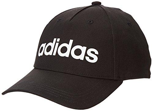 adidas Daily cap Cappellopello, Nero (Black Dm6178), Taglia Unica Unisex-Adulto