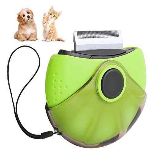 Bestcool Peine antipulgas, peine para piojos y polvo para gatos y perros, 3 en 1, peine para perros y salones de perros, peines para el cuidado de mascotas