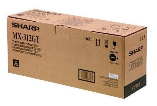 Sharp MX312GTMXM260 Toner, 25.000 Seiten, schwarz