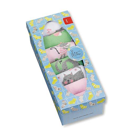 Sterntaler Baby Mädchen Söckchen 7er-box Mädchen Socken, Rosa (Rosa 702), 19-22 EU