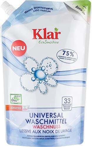 Klar Bio Universal Waschmittel Waschnuss (2 x 1,50 l)