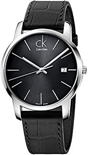Calvin Klein K2G2G1C3 For Men (Analog, Casual Watch), Leather
