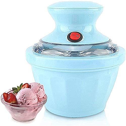 ZHIRCEKE Cocina Casa Fruta Infantil Máquina automática Helado Duro, Máquina de Sorbete de Fruta de Helado casero