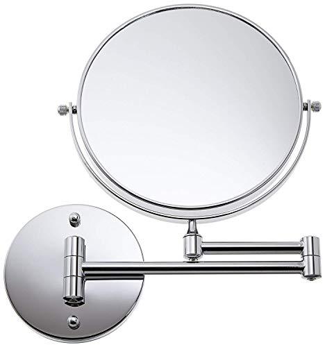 Loywe 5 Fach Normal Kosmetikspiegel Schminkspiegel Rasierspiegel klappbar Wandspiegel LW31(5 Fach)