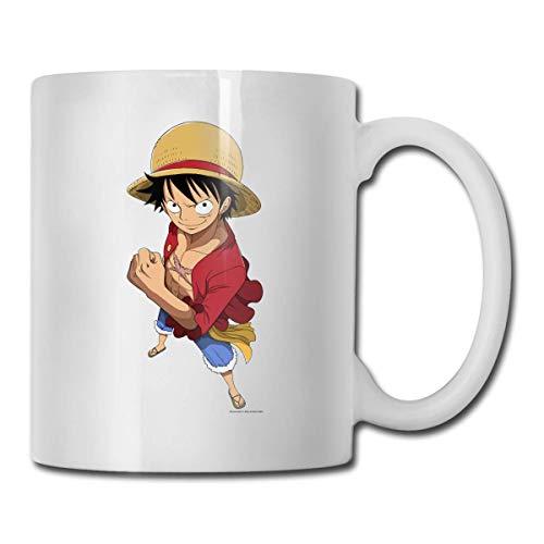 N\A Vasos de cerámica de One Piece Luffy Código 330ml