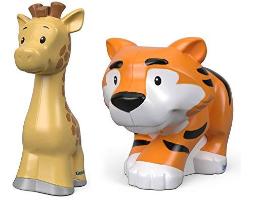 Little People Fisher Price Zoo Animal Figures 2 Pack - Giraffe & Tig