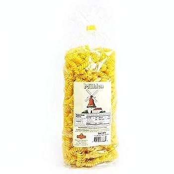 German Egg Noodle Spirals Wheat Semolina FUSILLI 1.1lb | 500g