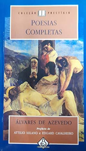 Poesias Completas. Alvares De Azevedo