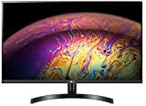32 inch QHD (2560 x 1440) Resolution IPS Monitor with HDR 10 Color Calibrated sRGB 99% - 350 Nits Brightness, 1 Billion Colors Ports:Display Port 1.4, Dual HDMI , Headphone Out, Audio In Gaming Features: AMD Freesync, Black Stablizer, Dynamic Action ...