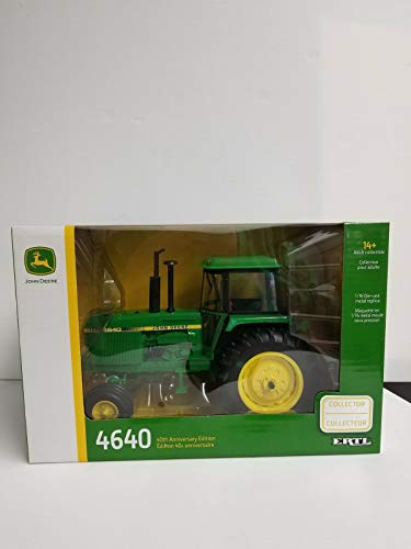 John Deere 1/16 40th Anniversary 4640 Tractor Toy Collector Edition - LP64477