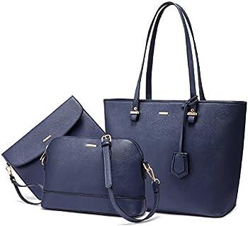 Lovevook 3-Pieces Shoulder Handbags