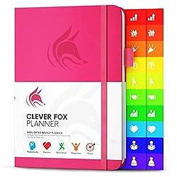 Image of Clever Fox Planner - Weekly...: Bestviewsreviews